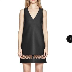 French Connection Clara Black Scuba Dress NWT M